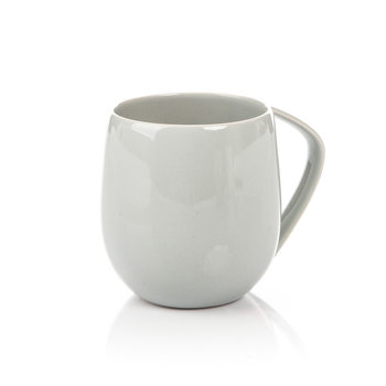 Mug Egg-Shaped Gray 300 ml Huis Decoratie