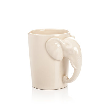 Mug with Elephant Head Handle, 300 ml Huis Decoratie