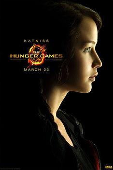 HUNGER GAMES - Katniss Everdeen - плакат (poster)