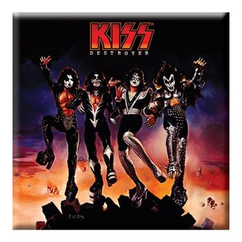 Kiss - Destroyer Album Cover Hűtőmágnes
