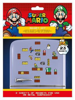 Mágnes Super Mario - Mushroom Kingdom