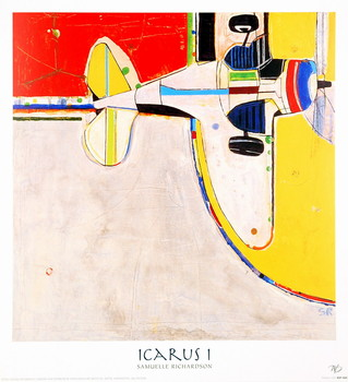 Icarus I Festmény reprodukció