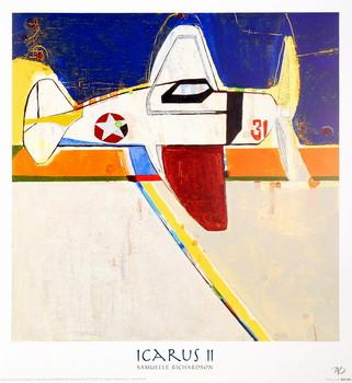 Icarus II Festmény reprodukció