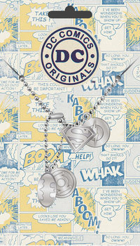 Identifikacijska pločica DC Comics - Logo Pendant