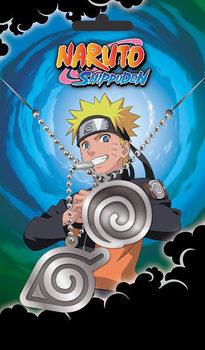 Identifikacijska pločica Naruto Shippuden - Hidden Leaves Pendant