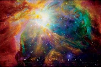 Imagination - nebula - плакат (poster)