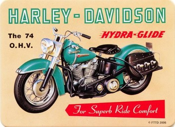 HARLEY DAVIDSON - hydra Imanes