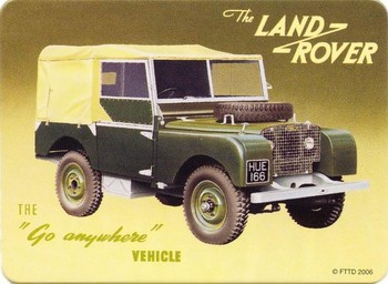LAND ROVER Imanes