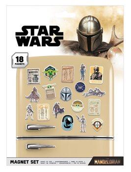 Star Wars: The Mandalorian - Bounty Hunter Imanes