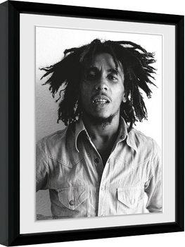 Bob Marley - One Love indrammet plakat