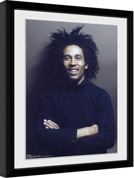 Bob Marley - Wall indrammet plakat