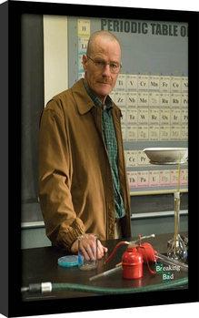 BREAKING BAD - teacher indrammet plakat