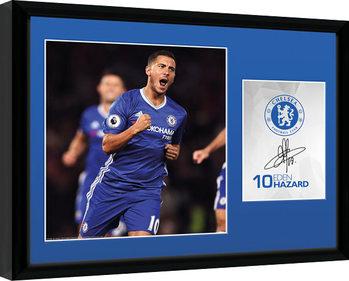 Chelsea - Hazard 16/17 indrammet plakat