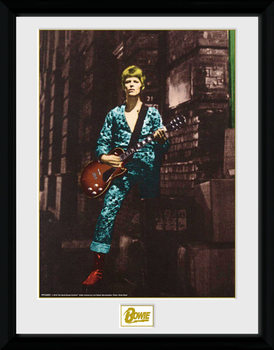 David Bowie - Street indrammet plakat