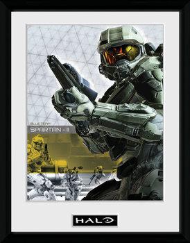 Halo 5 - Spartan indrammet plakat