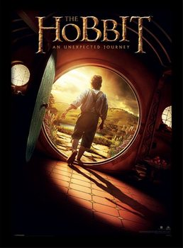 Hobbitten - One Sheet indrammet plakat
