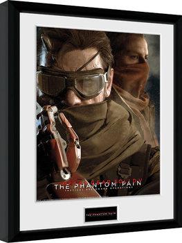 Metal Gear Solid V - Goggles indrammet plakat