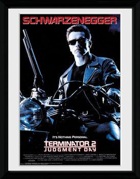 Terminator 2 - One Sheet indrammet plakat