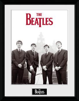 The Beatles - Boat indrammet plakat