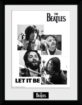 The Beatles - Let It Be indrammet plakat