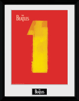 The Beatles - No1 Red indrammet plakat