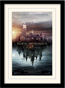 THE MORTAL INSTRUMENTS : DÆMONERNES BY – teaser indrammet plakat
