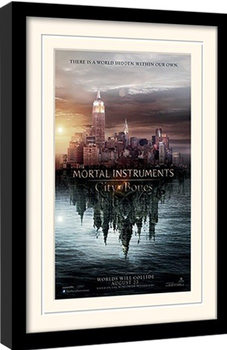 THE MORTAL INSTRUMENTS : DÆMONERNES BY – teaser indrammet plakat