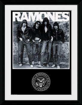 The Ramones - Album indrammet plakat