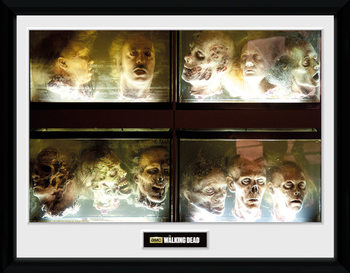 The Walking Dead - In A Pickle indrammet plakat