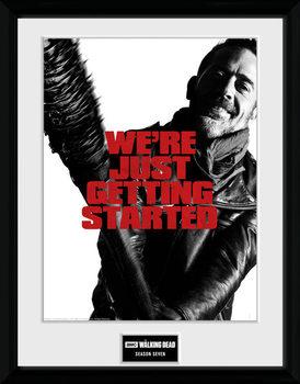 The Walking Dead - Season 7 indrammet plakat