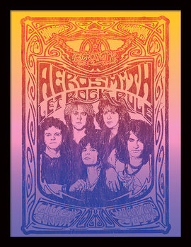 Aerosmith - Let Rock Rule Ingelijste poster