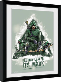Ingelijste poster Arrow - Destiny