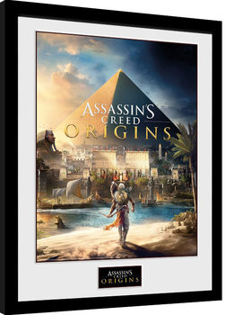 Assassins Creed: Origins - Cover Ingelijste poster