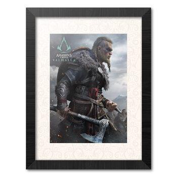 Ingelijste poster Assassins Creed: Valhalla