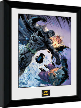 Batman Comic - Fist Fight Ingelijste poster