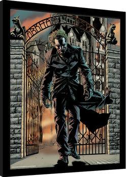 Ingelijste poster Batman - The Joker Released