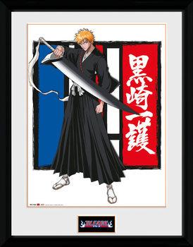 Bleach - Ichigo ingelijste poster met glas