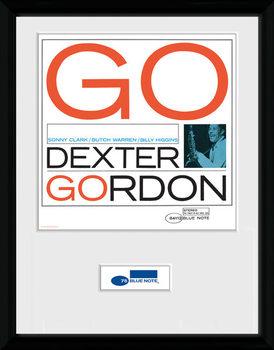 Blue Note - Dexter ingelijste poster met glas