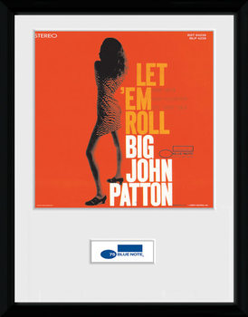 Blue Note - Patton ingelijste poster met glas