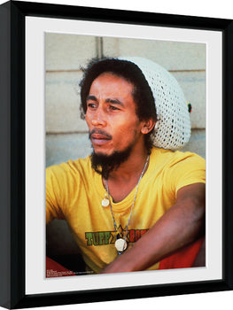 Bob Marley - Yellow Ingelijste poster