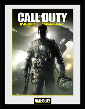 Call of Duty Infinite Warfare - Key Art ingelijste poster met glas