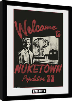 Call of Duty - Welcome to Nuketown Ingelijste poster