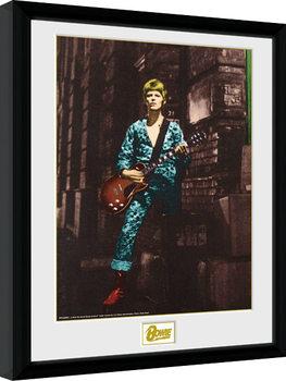 Ingelijste poster David Bowie - Street