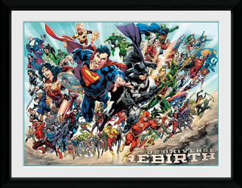 DC Universe - Rebirth Ingelijste poster