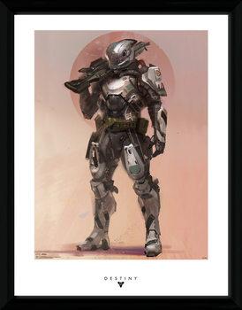 Destiny - Titan ingelijste poster met glas