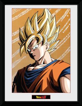 Dragon Ball Z - Goku ingelijste poster met glas