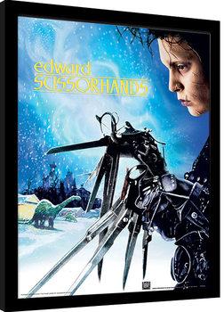 Edward Scissorhands - Snowfall Ingelijste poster