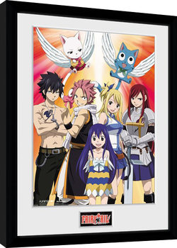 Fairy Tail - Season 2 Key Art Ingelijste poster