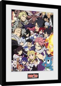 Fairy Tail - Season 6 Key Art Ingelijste poster