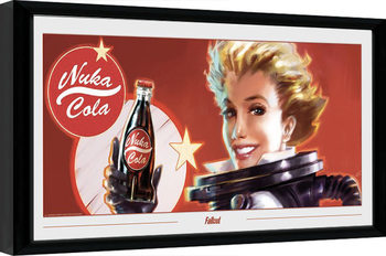 Ingelijste poster Fallout - Nuka Ad